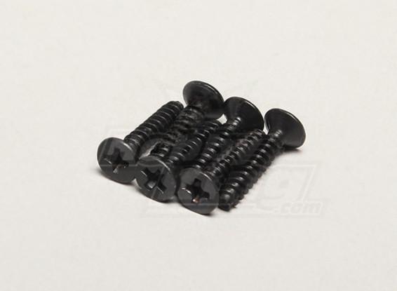 Nutech Plano Screw ISO3 * 15 (6pcs) - Turnigy Titan 1/5