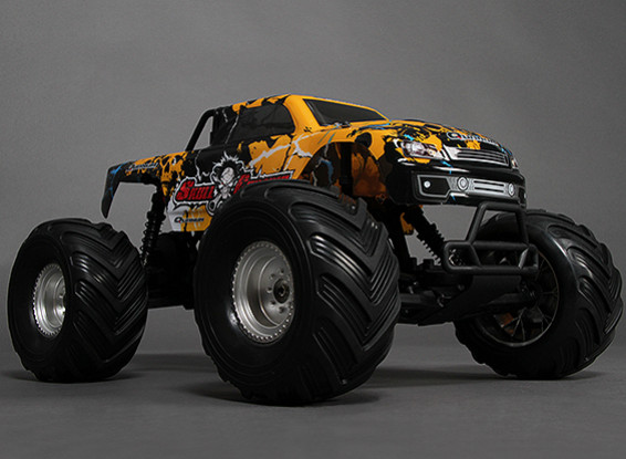 1/10 Crânio Quanum Crusher 2WD Brushless Monster Truck (RTR)
