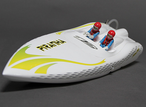 Piranha 400 Brushless V-Hull R / C barco (400 mm) w / Motor