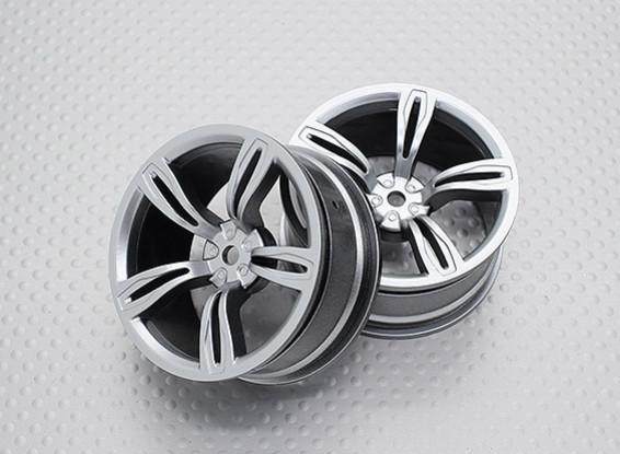 Escala 1:10 de alta qualidade Touring / tração das rodas do carro de RC 12 milímetros Hex (2pc) CR-M5S