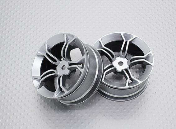 Escala 1:10 de alta qualidade Touring / tração Rodas RC 12 milímetros Car Hex (2pc) CR-MP4s