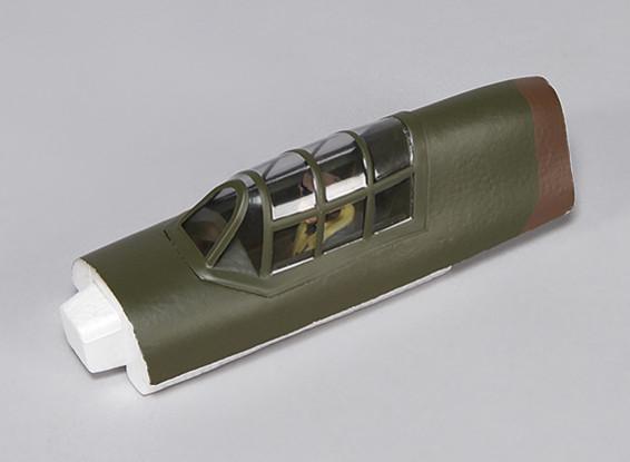 Hawker Hurricane Mk IIB 1.000 milímetros - Canopy substituição