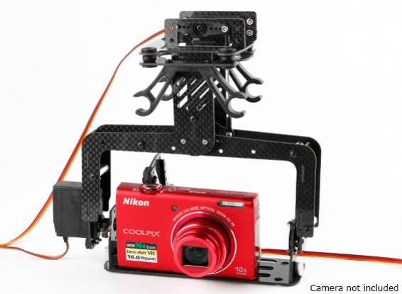 Padrão Servo Impulsionada 2 Axis Camera Gimbal com função Shutter