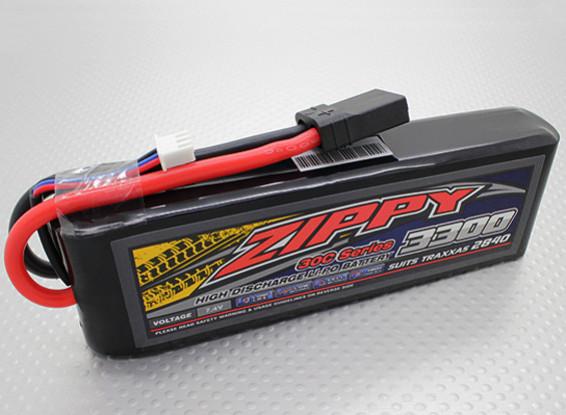 ZIPPY Traxxas compatível 3300mAh 2S1P 30C Lipo Pack (Suits TRA2840)