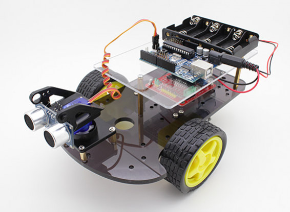 Kit Kingduino 2WD Ultrasonic Smart Car