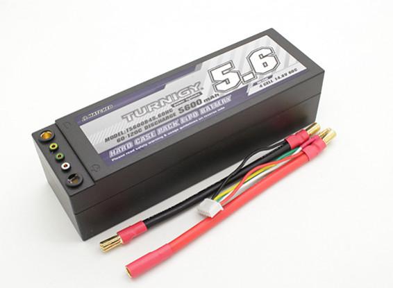 Turnigy 5600mAh 4S 14.8V 60C Hardcase Pack (Leads removíveis)