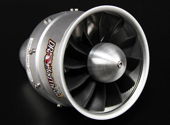 Dr. Mad Thrust 90 milímetros 12 Lâmina Alloy EDF 1400kv - 3600W (8s)