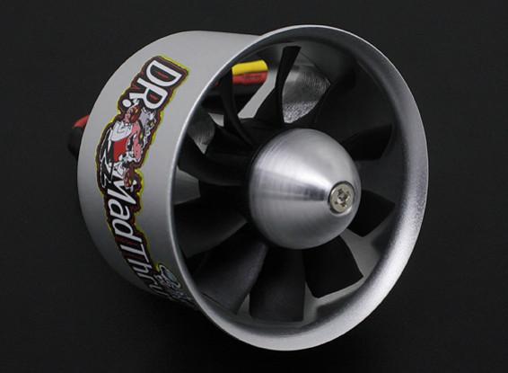 Dr. Mad Thrust 50 milímetros 10 Lâmina Alloy EDF 4000kv