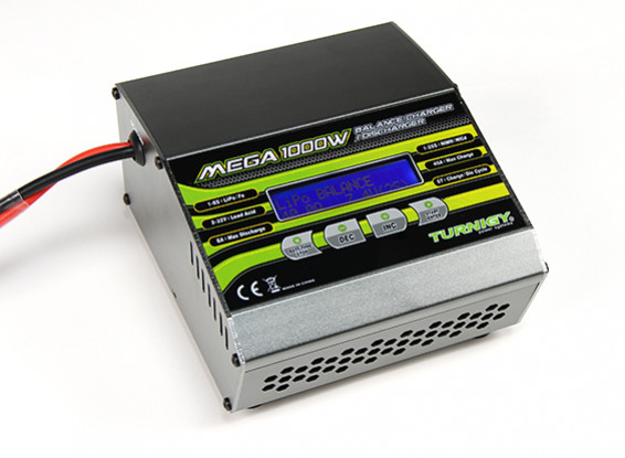Turnigy MEGA 1000W 8S 40A Lithium Polymer Balance Charger