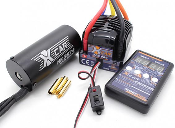 Hobbyking X-Car Brushless Power System 2050KV / 80A