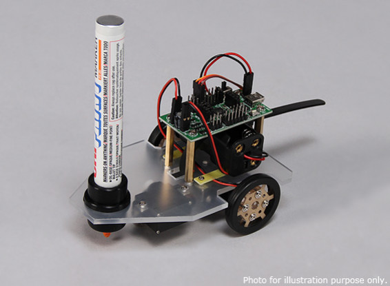 Doodle Bot desenho Robot (Kingduino compatível) (KIT)