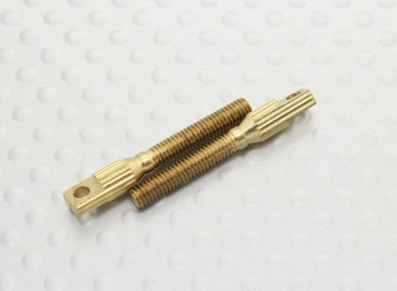 Puxe-pull / 3mm Clevise Quick Link acopladores - 26 milímetros Comprimento