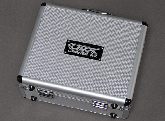 OrangeRX alumínio Flight Case T-Six Transmissor 2.4GHz 6ch