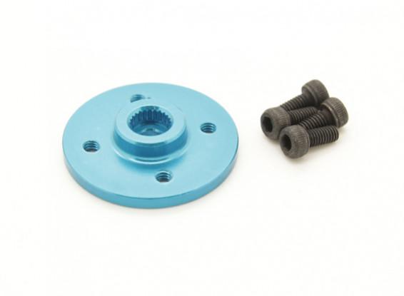 Super Heavy Duty Metal CNC Servo Disk - Hitec (azul)