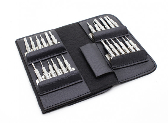 25pc de fenda Ajuste com Carry Case