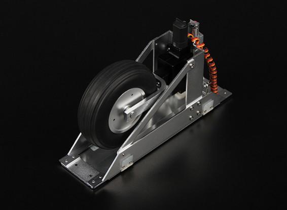 Planador Servoless Retracção W / Portas E Sequencer Terno 5-6m fuselagens