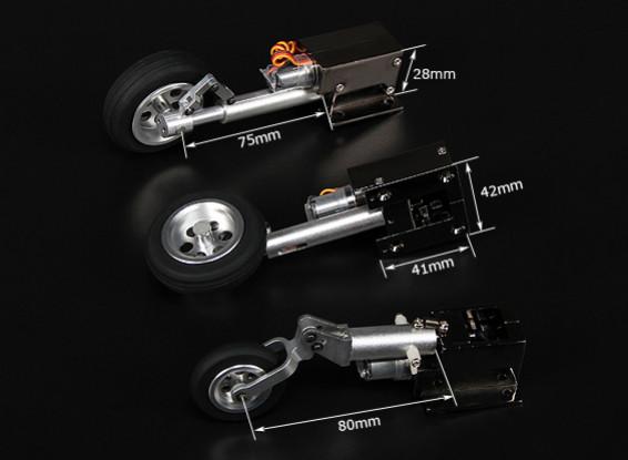 Turnigy luxo Full Metal Injection Alloy Servoless Retracção (triciclo) F9F8 Cougar
