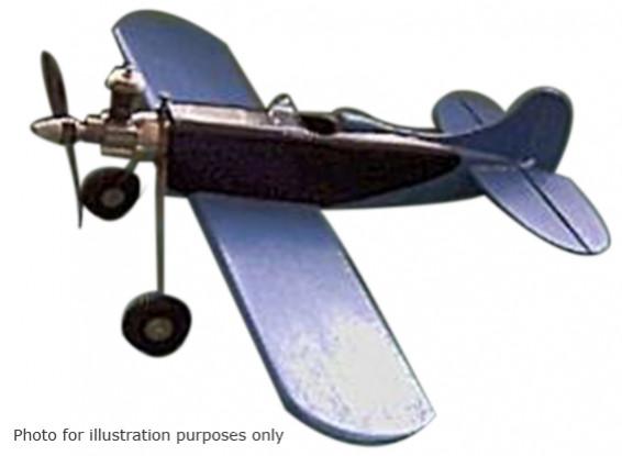 Black Hawk Modelos Corvo Controle Linha Balsa 457 milímetros (Kit)