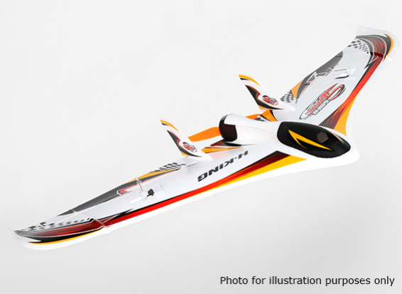 HobbyKing® ™ Mini sónico Flying Wing EPO 588 milímetros w / Motor (ARF)