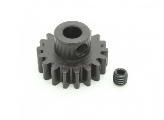 18T / 5 mm M1 Hardened pinhão Steel (1pc)