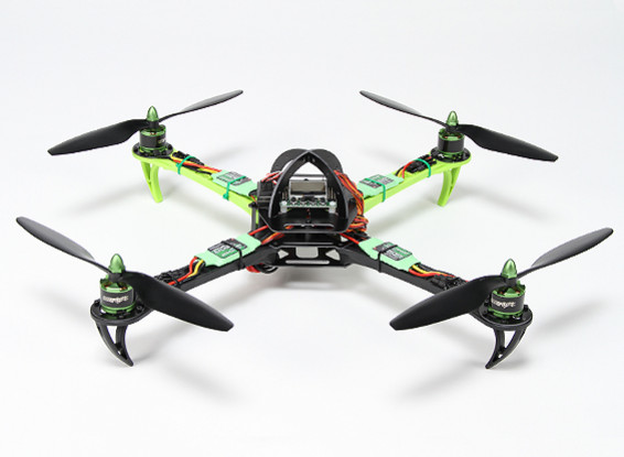 Turnigy SK450 Quadrotor Powered By Multistar. Quadrotor & 5X Package (Modo 2) (pronto para voar)