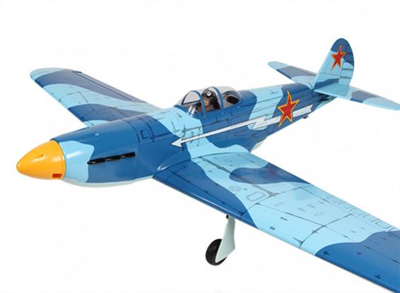 Yak-9 Soviética lutador Balsa GP / EP 1.520 milímetros (ARF)