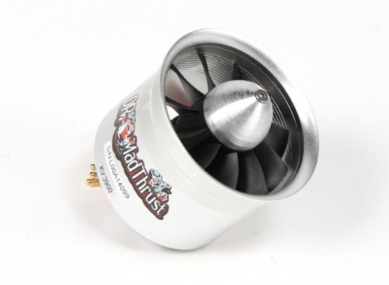 Dr. Mad Thrust 70 milímetros 11-Blade Liga EDF 3900kv Motor - 1300watt (4S)