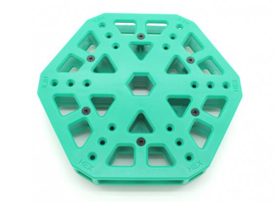 RotorBits HexCopter Centro de montagem (verde)