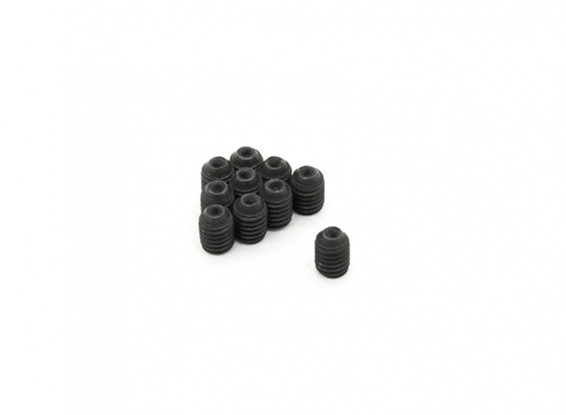 RJX X-TRON 500 m3 Parafusos x 4 milímetros Grub # XT90-9070 (10pcs)