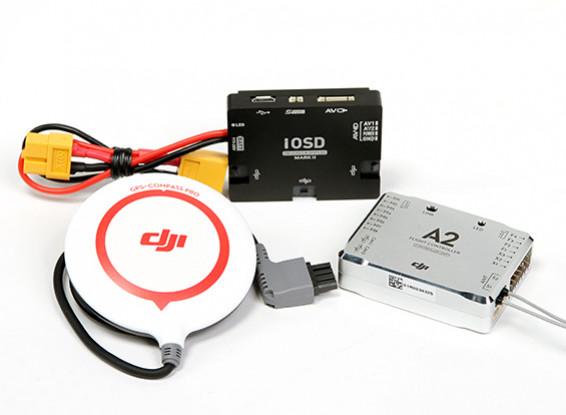 DJI A2 Multi-Rotor System Flight Control w / IOSD MARK II Combo