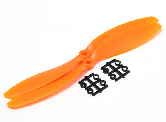 Hobbyking ™ Hélice 9x4.7 Orange (CCW) (2pcs)