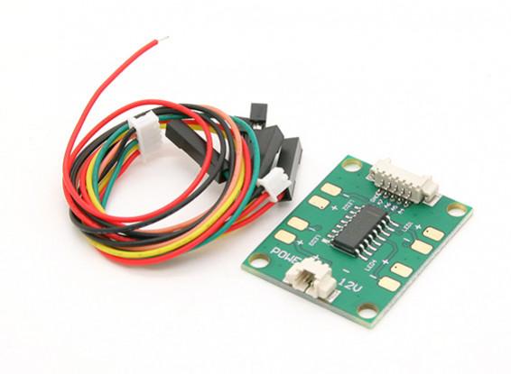 HKPilot LED Driver mega Conselho 12V (4 canais) (APM)