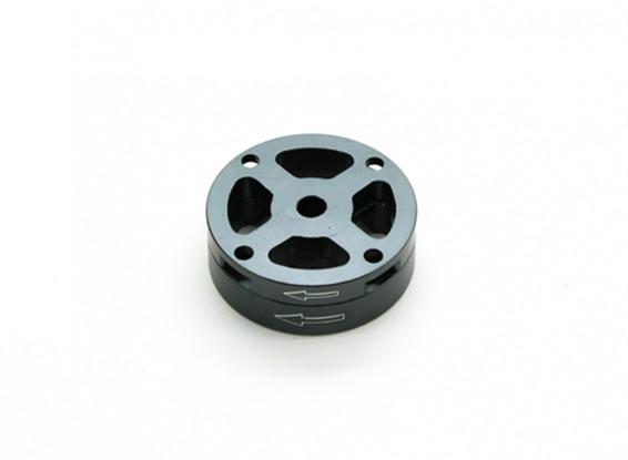 CNC Alumínio M10 Quick Release auto-aperto Prop Adapter Set - Titanium (sentido horário)