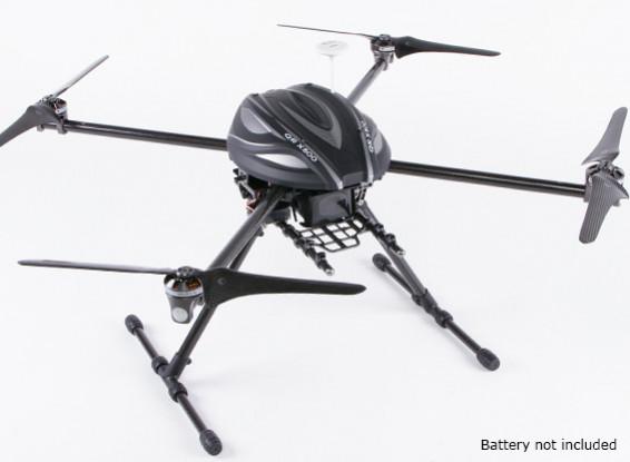 Walkera QR X800 FPV GPS Quadrotor w / retrai (PNF)