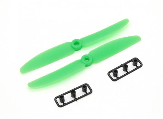Gemfan Hélice 5x3 Green (CW / CCW) (2pcs)
