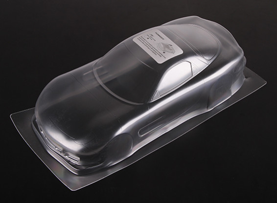 01:10 Mazda RX-7 Limpar Shell Corpo