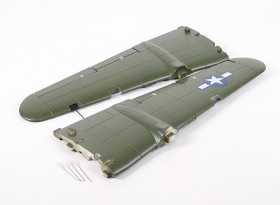 HobbyKing B-25 1250 milímetros - Substituição Principal Asa