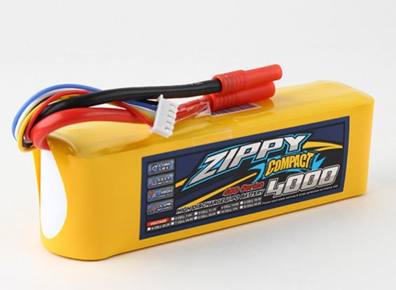ZIPPY Compact 4000mAh 4s 40c Lipo pacote