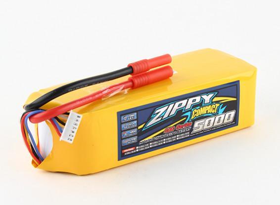 ZIPPY Compact 5000mAh 6s 40c Lipo pacote