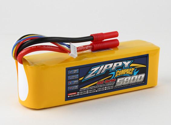 ZIPPY Compact 5800mAh 4s 40c Lipo pacote