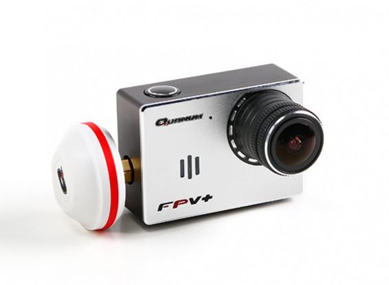Quanum FPVplus Wide-Angle HD 1080p FPV câmera com transmissor de 5.8GHz