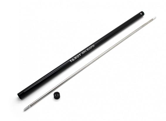Tarot 450 PRO Torque Tubo w / cone de cauda - Black (TL45039)