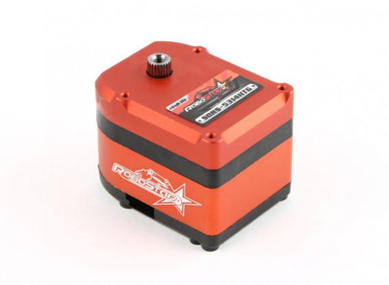 RoboStar SBRS-5314HTG 280 ° Metal Gear Digital High Voltage Robot Servo 53,1 kg / 0.14Sec / 81g