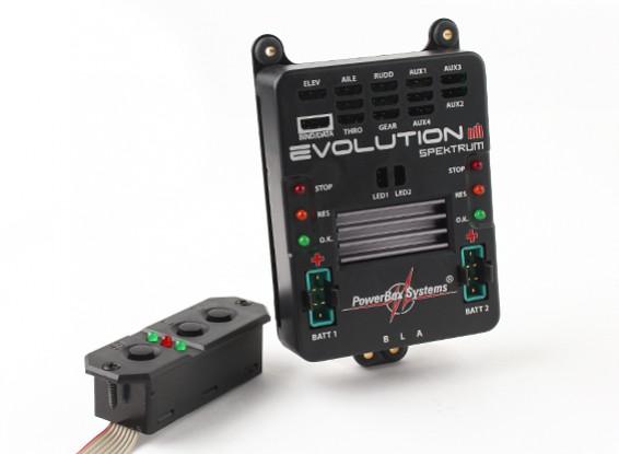 PowerBox Evolução Spektrum W / SensorSwitch