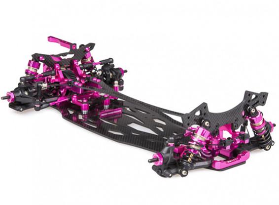 3Racing SAKURA FF 2014 1/10 Movimentação de roda dianteira de Carros de Turismo (Kit)