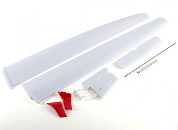 ASW 28 Sailplane 2.540 milímetros - Wing and Set Cauda