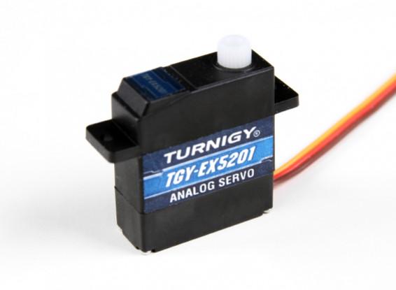 Turnigy ™ TGY-EX5201 Ball Bearing Analog Micro Servo 2,2 kg / 0.10sec / 10,4 g