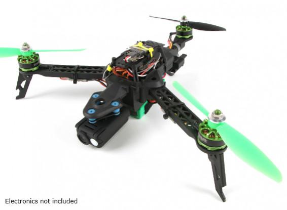 Quadro Quanum Trifecta Mini dobrável Tricopter (KIT)