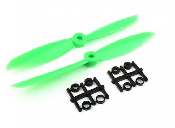 Gemfan Hélice 6x4.5 Green (CW / CCW) (2pcs)