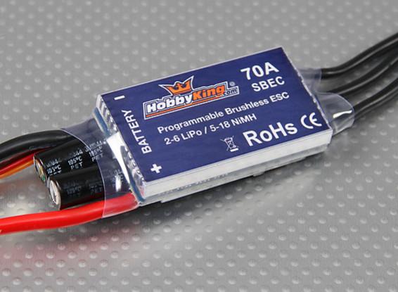 HobbyKing 70A BlueSeries Brushless Controlador de velocidade